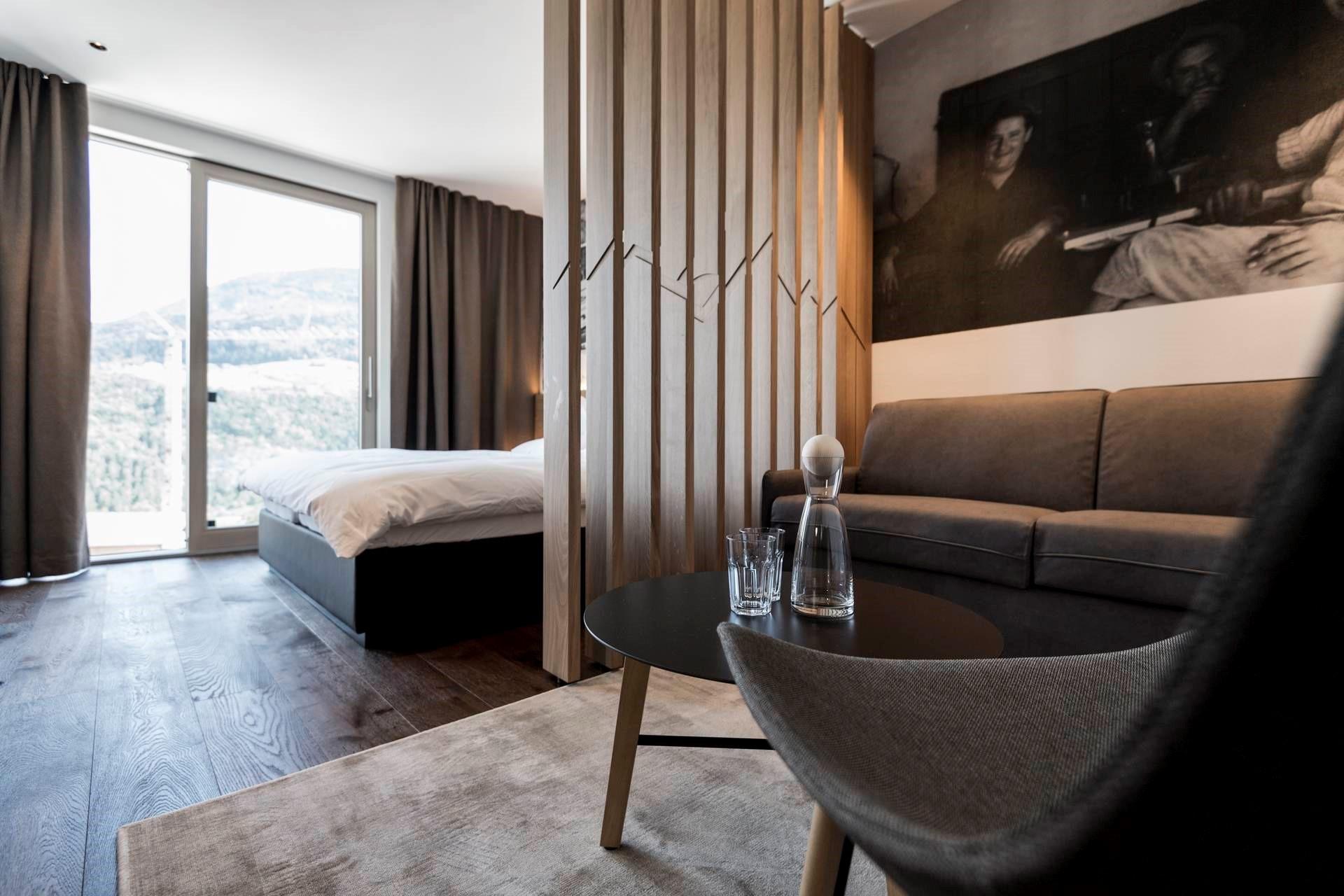 Alpin stylehotel die sonne superior design hotel in for Design hotel alto adige